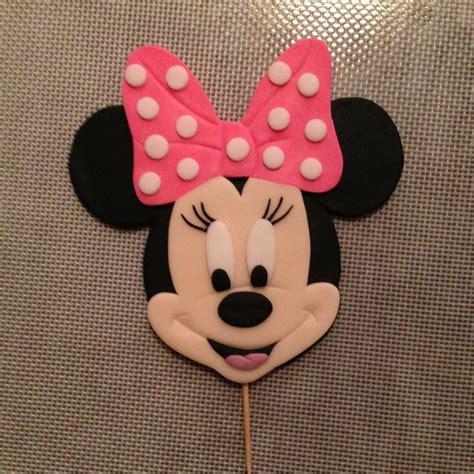 minnie mouse cake topper  wwwamberslittlecupcakerycom