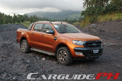Cover Ford Everest 4x2 Xlt updated ford philippines debuts new 2016 ranger w specs