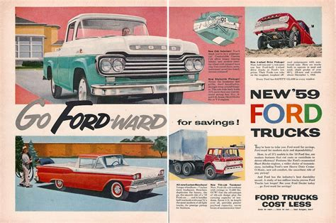 1959 jeep ad 01 ford truck ads autos post