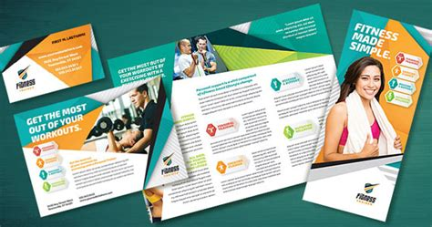 leaflet design inspiration 2015 get your marketing in shape with fitness trainer designs