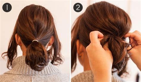 how to do good hairstyles for medium hair 1001 id 233 es de queue de cheval pour cheveux courts