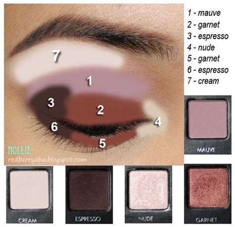 eyeshadow tutorial lorac fall makeup with lorac pro garnet beauty pinterest