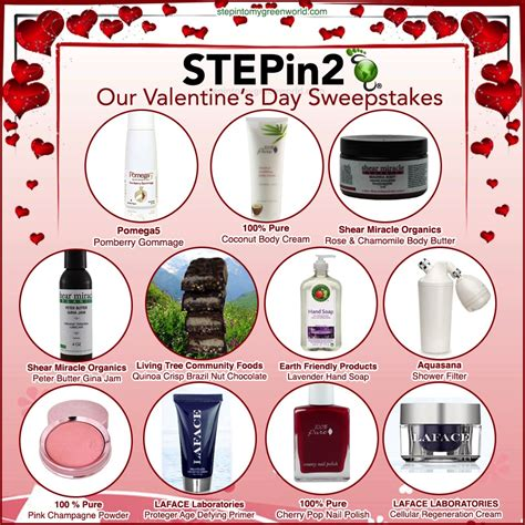 Valentine Sweepstakes - stepin2 2014 valentine s day guide and sweepstakes step into my green world stepin2