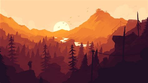 firewatch  game wallpapers hd wallpapers id
