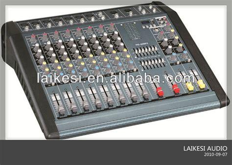 Power Mixer Audio Protea Pmx 12 Usb audio mixer with lifier pmx 800 8 channel audio