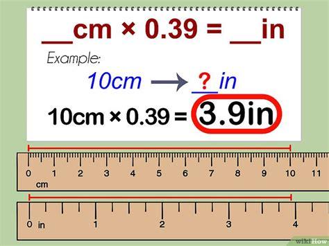 converter cm ke inci cara mengonversi sentimeter ke inci wikihow