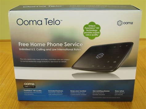 ooma telo and home phone service review the gadgeteer