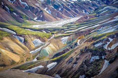 wallpaper landmannalaugar highlands iceland hd nature