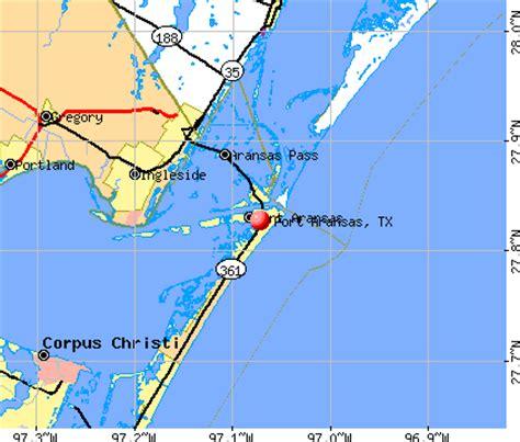 port aransas tx 78373 profile population maps
