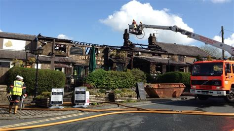 chorley pub gutted by granada itv news