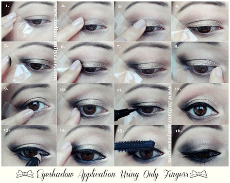 Eyeshadow Application maquillaje by mollie eyeshadow tip