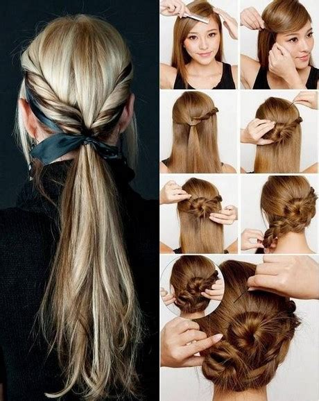 cute hairstyles that are easy to make hairstyle easy to make