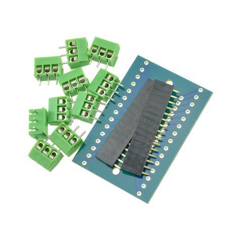 Arduino Nano 3 0 Atmega328 Ch340g High Quality Tanpa Kabel Nano V3 0 Ch340g Atmega328 Terminal Adapter Shield Board