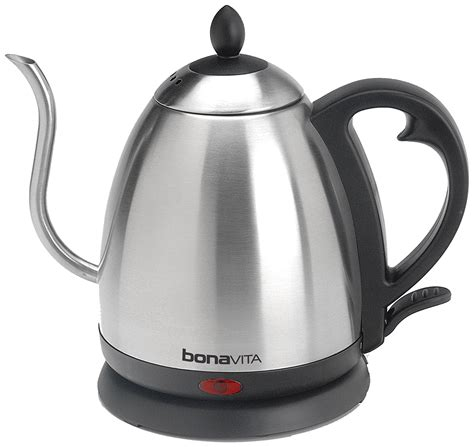 Kitchen Kettle History Bonavita Stainless 1 L Electric Kettle Pot Water Tea