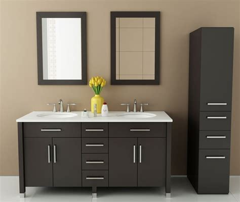 Bathroom Vanities 59 Inches by Avola 59 Inch Sink Vanity Bathroom Vanity Espresso