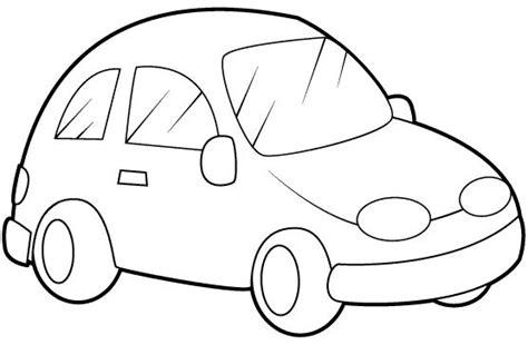 imagenes para colorear un carro un dibujo de carro imagui