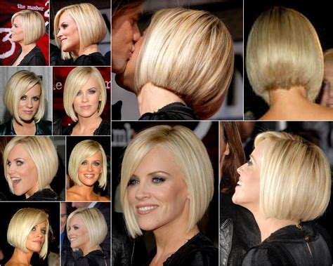 jenny mccarthy real hair color jenny mccarthy bob collage this makes me want to get