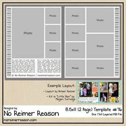 scrapbook page templates free two page digital scrapbook template for 8 5 215 11 scrappers