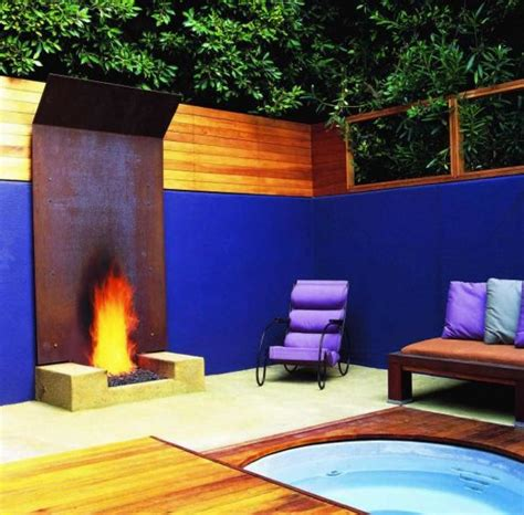 Modern Outdoor Fireplace Designs by 12 Amazing Modern Outdoor Fireplaces