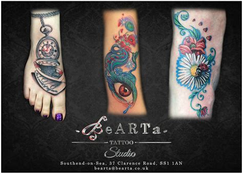 henna tattoos essex bearta studio essex southend piercing and