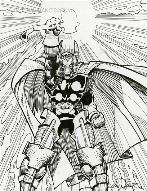 love comic covers beta ray bill by walter simonson other dwo comic art stuff walter simonson the mighty thor remarqued artists edition beta ray bill in gerry turnbull s