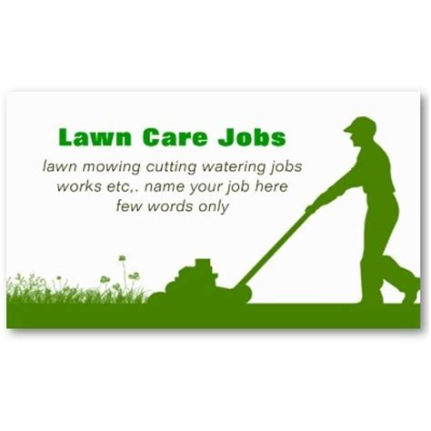 lawn care business card templates free downloads lawn care grass cutting business card lawn care