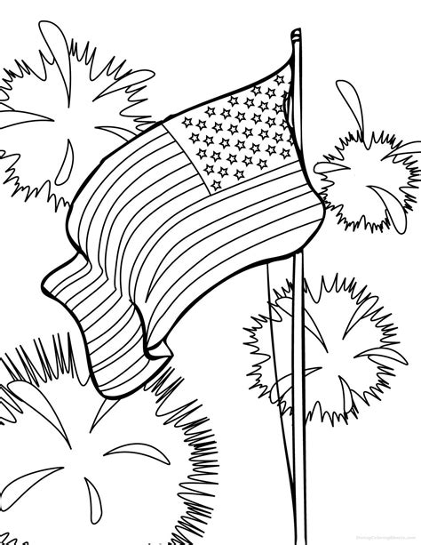 patriotic coloring pages preschool american flag coloring pages for preschool coloring pages