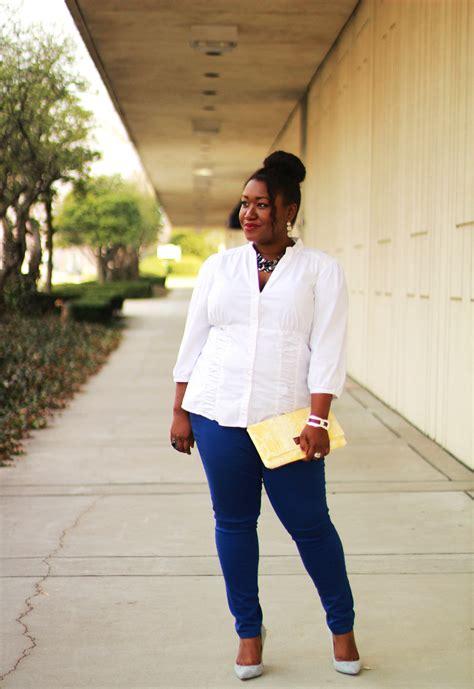 Shapely Chic Sheri   Plus Size Fashion and Style Blog for Curvy Women: Something Blue