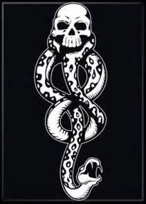 harry potter dark mark death eater snake skull