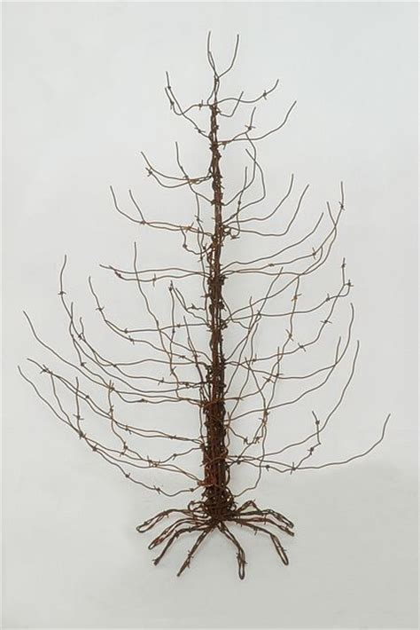 barbed wire tree barbed wire tree crafts trees