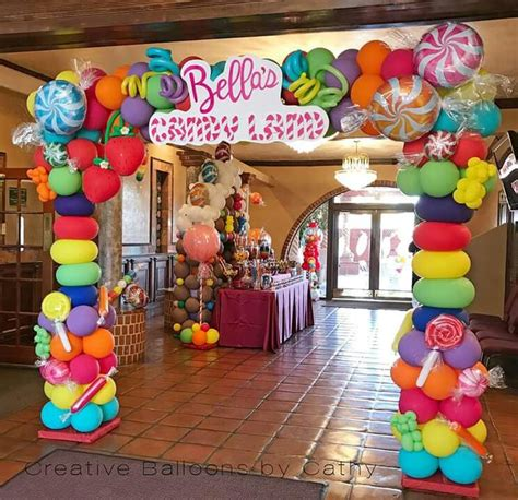 candyland images for decorations 526 best balloons candyland images on birthdays land and land theme