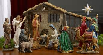 nativity sets real life christmas decoration native