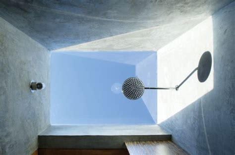 Skylight Shower by Uplifting Skylight Designs To Get The Light Flowing