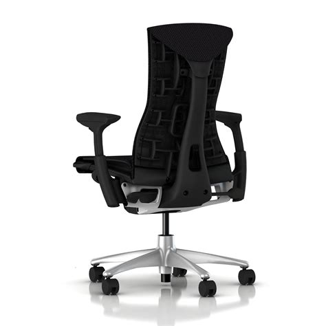 balance chair black herman miller embody chair black balance with graphite