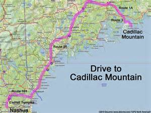 Cadillac Mountain Maine Address Directions To Cadillac Mountain