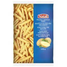 frozen crincle fries natali french fries potato frozen food products premia