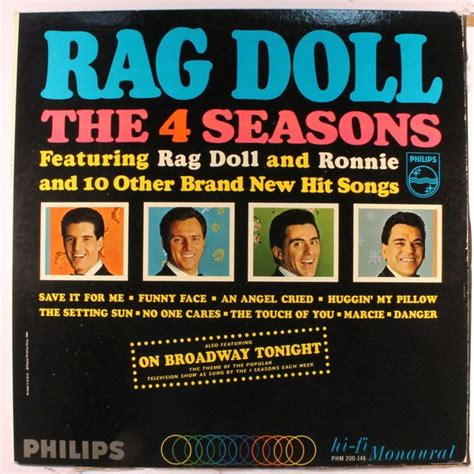 rag doll jersey boy 295 best frankie valli the 4 seasons images on