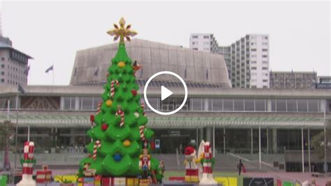 it s so big and awesome 10m tall lego christmas tree
