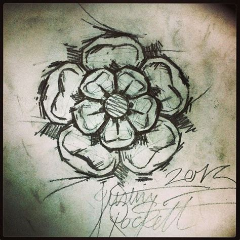 yorkshire rose tattoo scratchy prefer this style tattoos