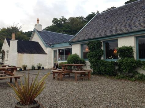 Inver Cottage by Outside Picture Of Inver Restaurant Strachur Tripadvisor
