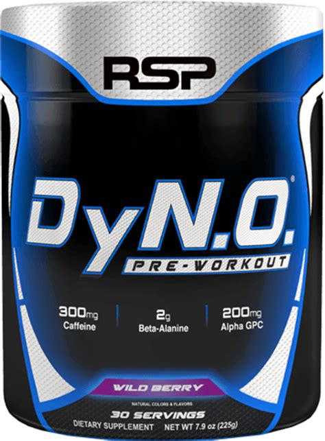 Laris Rsp Dyno Pre Workout 30 Serving dyno by rsp nutrition at bodybuilding best prices on