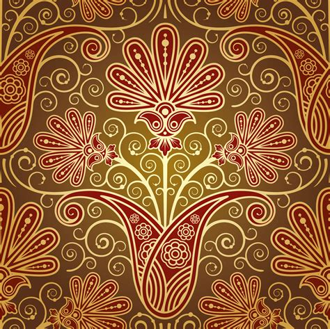 pattern illustrator indian european fine pattern background 02 vector free vector