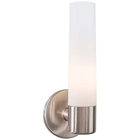 Lightsaber Wall Sconce George Kovacs 174 Saber 1 Light Wall Sconce With Glass Shade Bed Bath Beyond