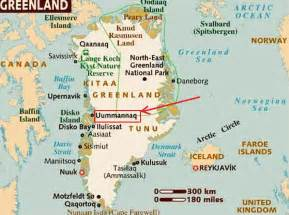 map of canada and greenland ultima thule uummannaq greenland an arctic gem facing