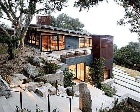 building a house on a slope tips for building on a sloped terrain first in architecture