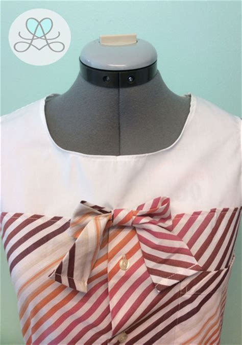 Zaema Dress By D Lovera s dress shirt refashion a pinspiration project lovera loft