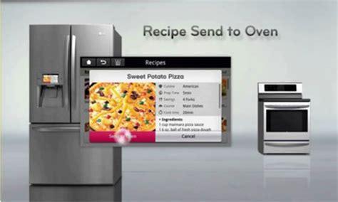 High Tech Appliances Coming to a Kitchen Near You