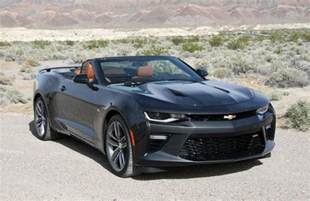 drive 2016 chevrolet camaro 2 0t and ss convertible