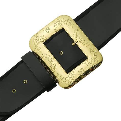 santa claus belt with decorative cast buckle suit xl l