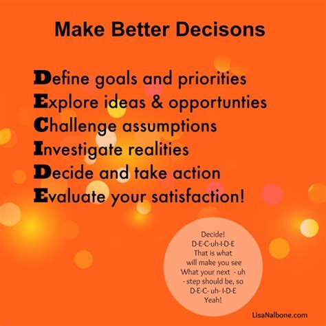 how to make your better do you struggle with decisions learn how to make better